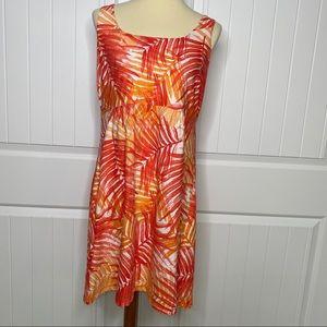 Tommy Bahama sleeveless tropical dress size large